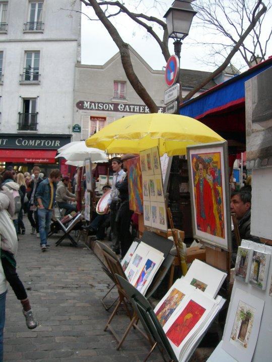 Montmartre parigi mon amour for Sognare che il tuo ragazzo ti lascia per un altra